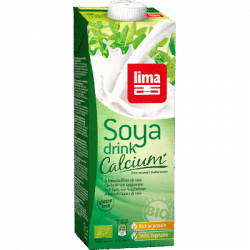 Boisson de soja calcium 1l
