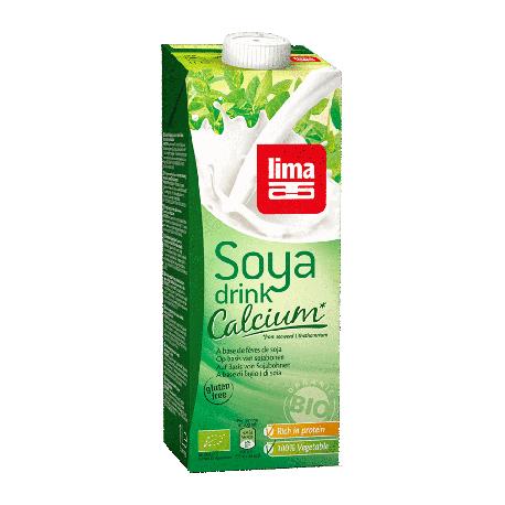 Boisson de soja calcium 1L - Lima
