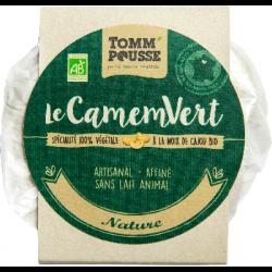 Le CamemVert nature 120g - Tomm'Pousse