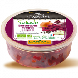 Salade betteraves rouges & oignons 170g - Danival