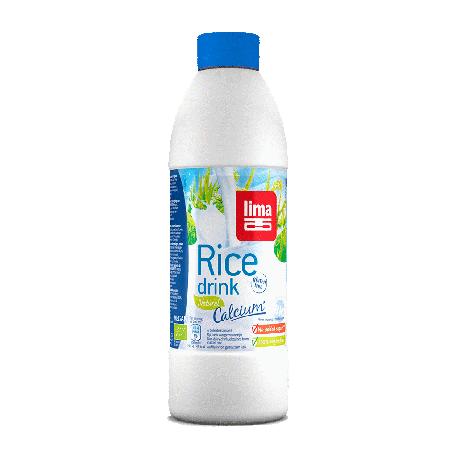 Boisson riz calcium bouteille 1L - Lima