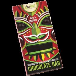 Chocolat noix et cerises 70g