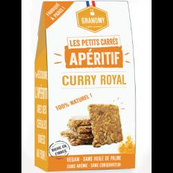 Les petits carrés - apéritif - curry royal 90g - Granomy