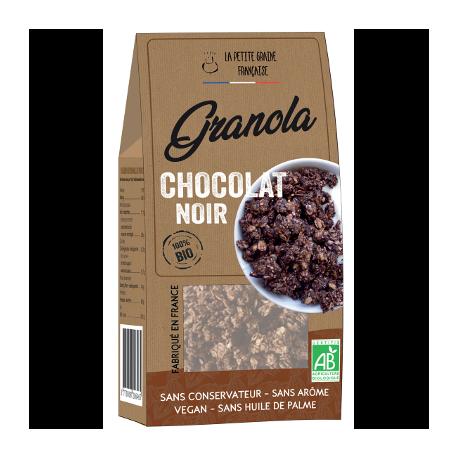 Granola chocolat noir 200g - La Petite Graine Française