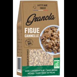 Granola figue cannnelle 200g - La Petite Graine Française