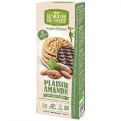 Plaisir amande chocolat noir 130g - Le Moulin du Pivert