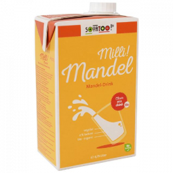 Lait d'amande 750ml - Soyatoo!