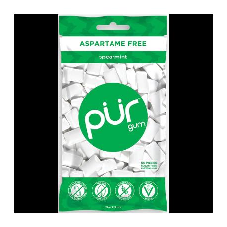Chewing gum menthe vert 77g - Pur Gum