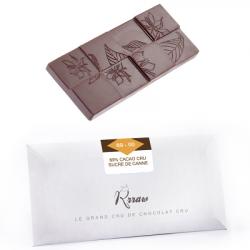 Tablette chocolat cru 69% sucre de canne 45g - Rrraw