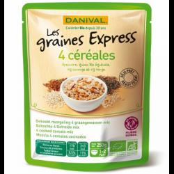 4 céréales épeautre, quinoa, riz sauvage, riz rouge 250g - Danival