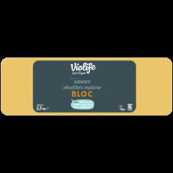 Violife cheddar mature en bloc 2,5kg