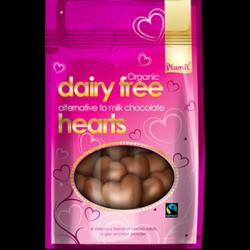 Coeurs chocolat 125g - Plamil