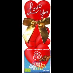 Coeurs en chocolat 65g - So free