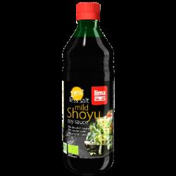 Sauce shoyu 28% de sel en moins 500ml
