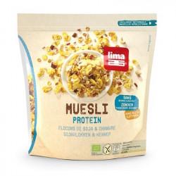 Muesli protein flocons de soja & chanvre 350g