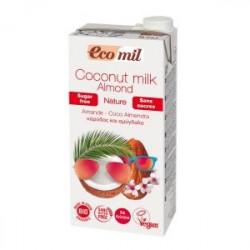 Lait de coco à l'amande sans sucre 1l