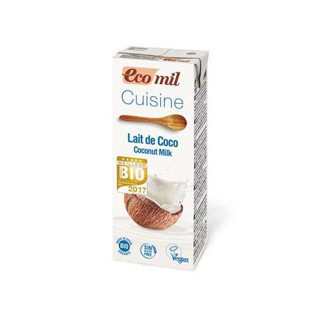 Lait de coco cuisine 200ml