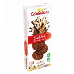 Sablés chocolat noir 132g