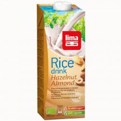 Boisson de riz noisette amande 1L promo -15% - Lima