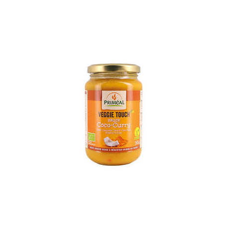 Sauce veggie touch coco curry 345g