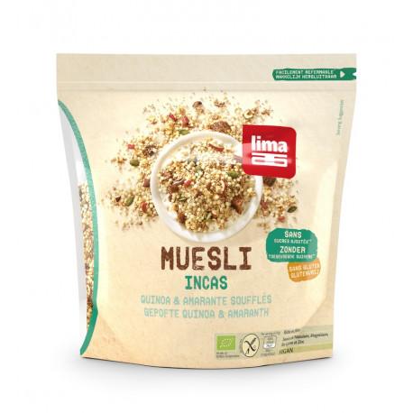 Muesli incas quinoa & amarante soufflés 350g
