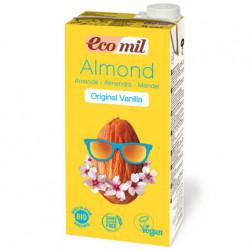 Lait d'amande vanille 1L - Ecomil