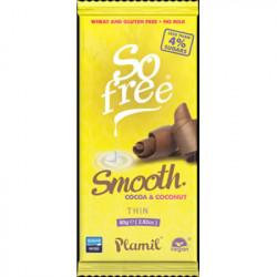 Chocolat cacao noix de coco 80g - So free