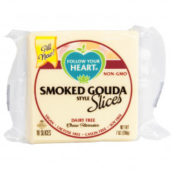 Tranches façon gouda fumé 200g - Follow your heart