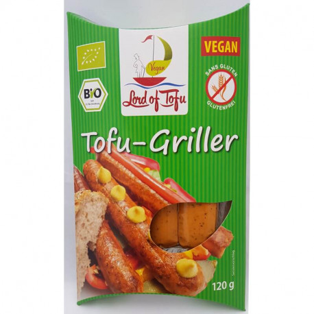 Saucisses à griller 120g - Lord of tofu
