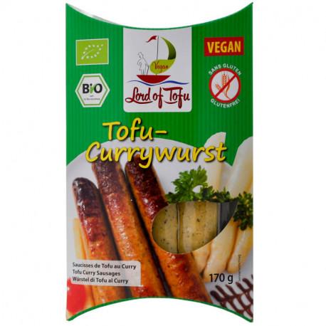 Saucisses au curry 170g - Lord of tofu