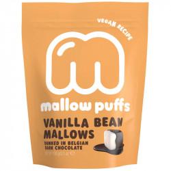 Marshmallows vanille enrobés de chocolat noir 100g - Mallow Puffs