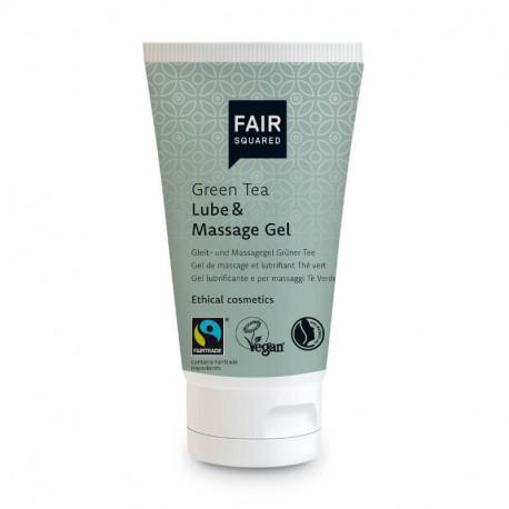Gel de massage et lubrifiant thé vert 50ml - Fair Squared