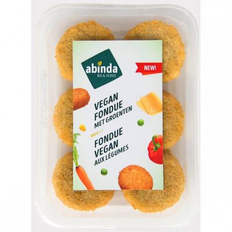 Mini burgers fondue vegan aux légumes 180g - Abinda