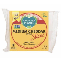 Tranches façon cheddar medium 200g - Follow Your Heart