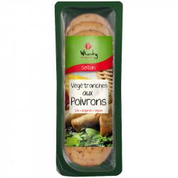 Végé'tranches aux poivrons 100g - Wheaty