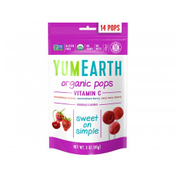 Pops fruits rouges 85g