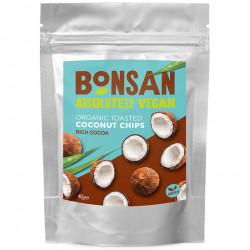 Chips de noix de coco au cacao 40g - Bonsan