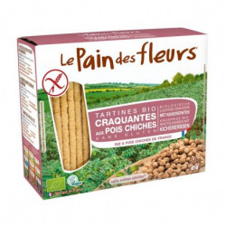 Tartines craquantes aux lpois chiches 150g