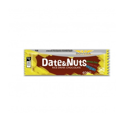 Barre date and nuts 40g