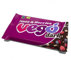 Vego dark nuts berries 85g