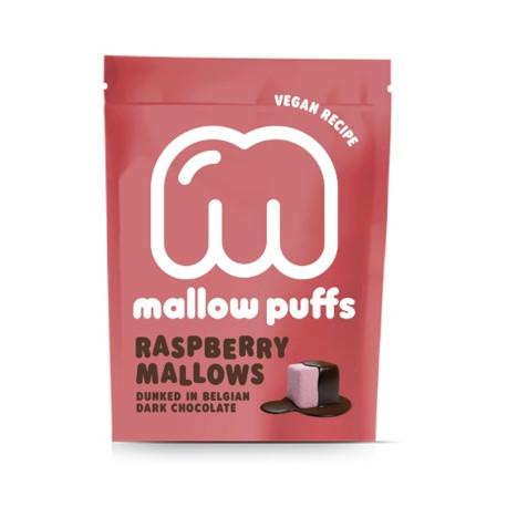 Marshmallows framboise enrobés de chocolat noir 10