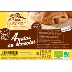 4 pains au chocolat 250g