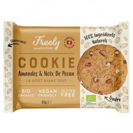 Cookie aux amandes et noix de pécan 65g