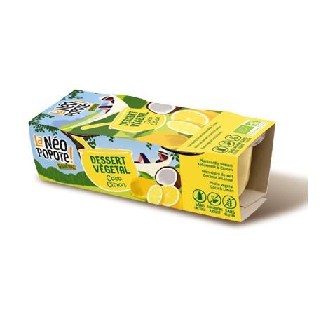 Dessert coco citron 200g
