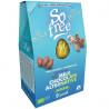 Oeuf de Pâques & mini demi-œufs en chocolat 125g - So Free