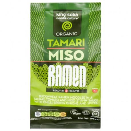 Nouilles ramen tamari miso chili instantané 105g