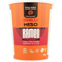 Cup nouilles ramen chili miso instantané 85g