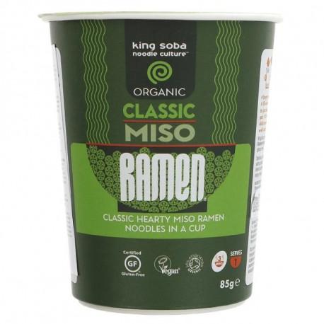 Cup nouilles ramen miso classic instantané 85g
