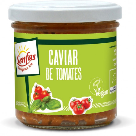 Tapas de tomates séchées au basilic 90g