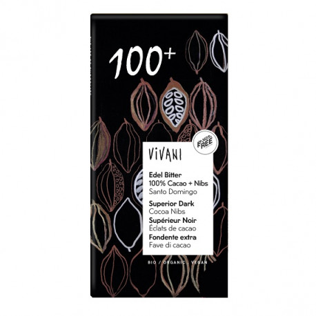 Chocolat noir 100% 100g